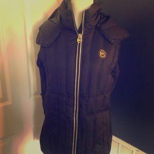 Michael Kors Black Puff Vest - NWOT